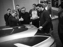 Kia Proceed с необычным покрытием «засветили» во Франкфурте