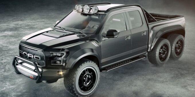 Hennessey VelociRaptor: 6 колес и вместо сердца пламенный мотор