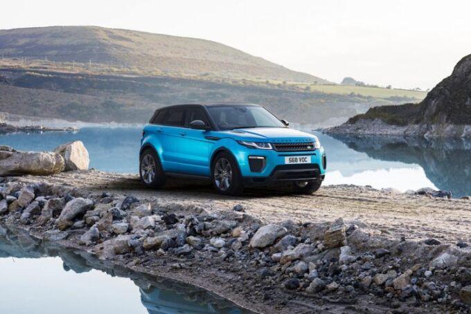 Новый Range Rover Evoque станет подключаемым гибридом