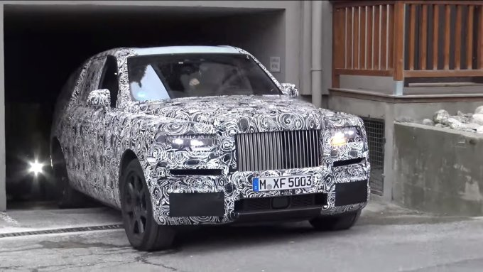 Rolls-Royce Cullinan и несколько BMW заметили в Нюрбургринге