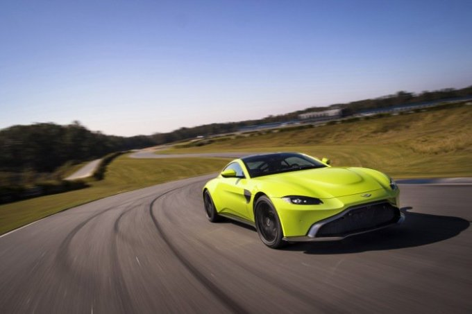 Aston Martin почти распродал новый Vantage