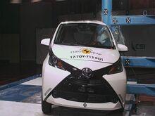Euro NCAP  испытал надежность Toyota Aygo