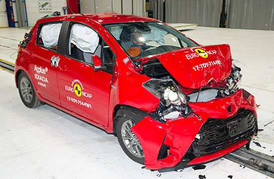 Euro NCAP проверил Toyota Yaris