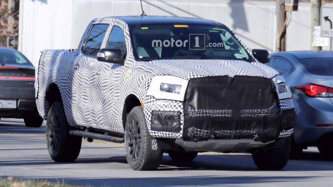 Новый Ford Ranger покажут в Детройте