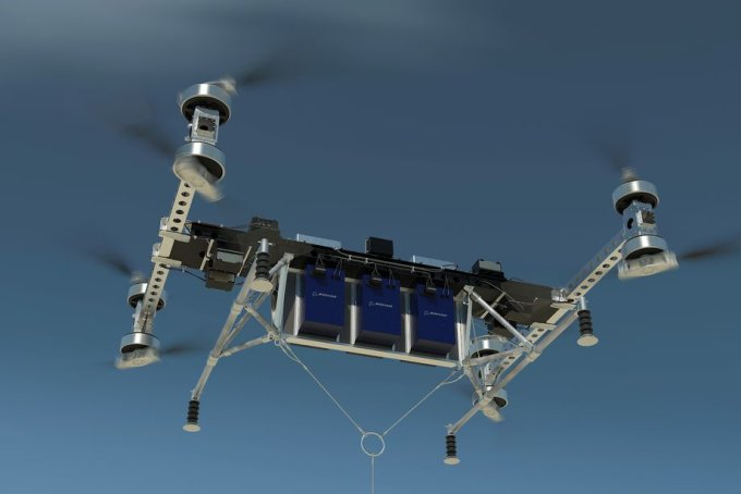 Boeing начал работу над новым грузовым беспилотником