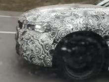 BMW 3 Series заметили на автобане
