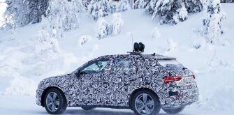 Новый Audi Q3 все еще проходит испытания
