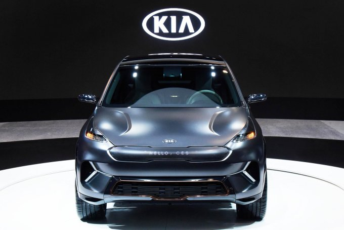На выставке CES показали электрический Kia Niro