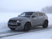 Range Rover Evoque показал сходство с Velar