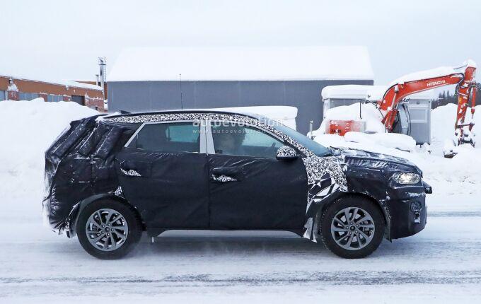 Обновленный Hyundai Tucson вывели на мороз