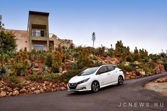 Пробег Nissan Leaf на одной зарядке подтвержден на уровне 243 км