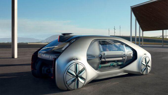 Renault показал автономный концепт EZ-GO