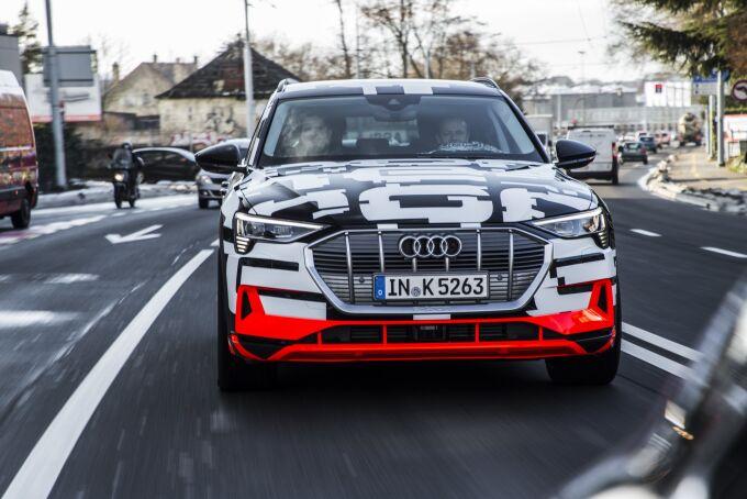 Audi показала e-Tron, практически готовый к запуску в производство