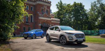 Hyundai Tucson: на дороги - с новым автоматом