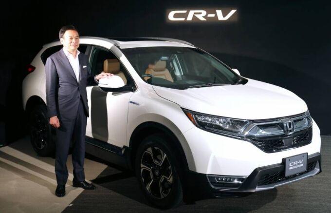 Honda возвращает CR-V, чтобы бороться с Nissan и Toyota