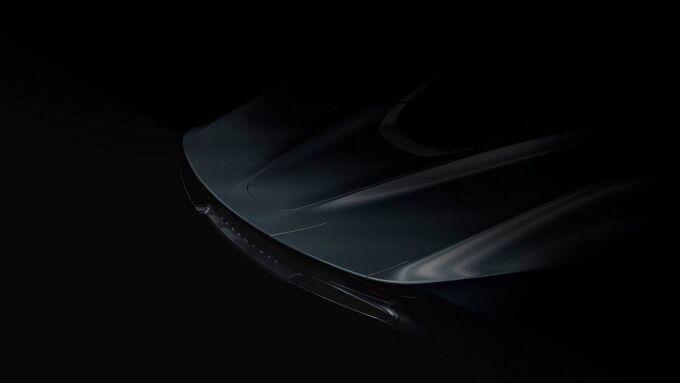 McLaren выпустил первый тизер Speedtail