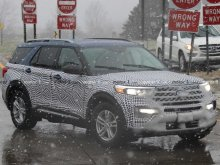 Прототип Ford Explorer заметили на дороге