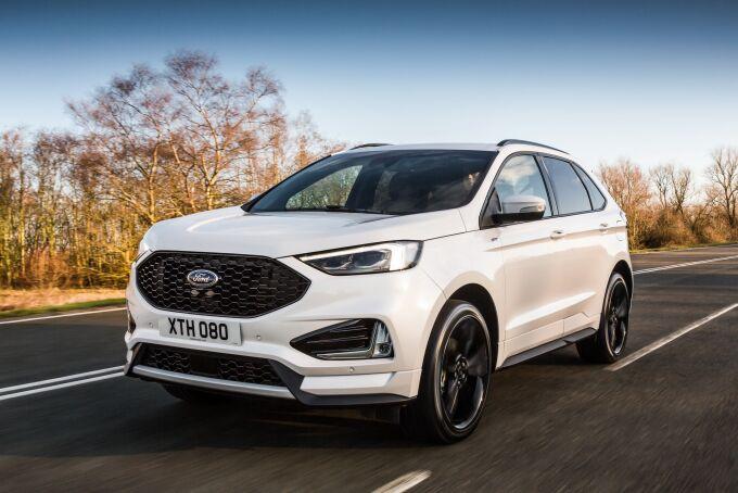 Ford начинает продажи обновленного Edge в Европе
