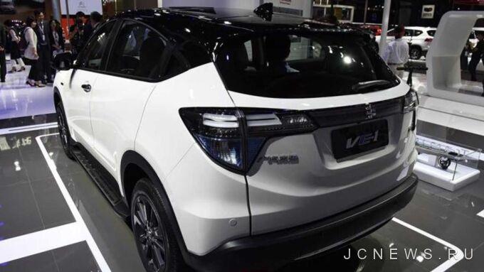 Honda представила электромобиль на базе HR-V