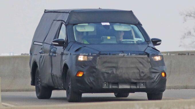 Ford готовит пикап на базе Focus