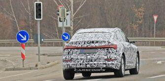 Audi тестирует серийную версию e-tron Sportback