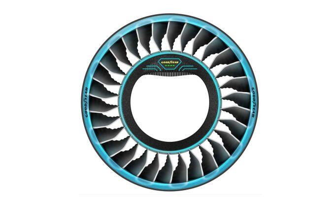 Goodyear подготовил для Женевского автосалона футуристичные шины Aero Tiltrotor