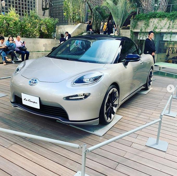 Новое купе Toyota уже существует