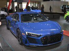 Audi R8 представили на Нью-Йоркском автосалоне
