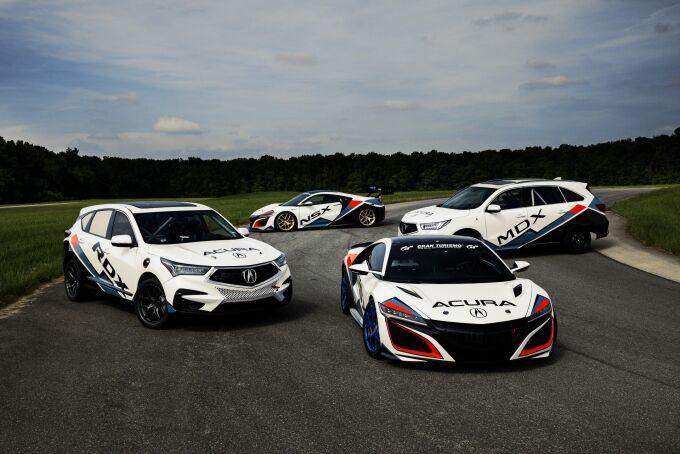 Acura привезет спортивный гибрид на состязания в Пайкс-Пик