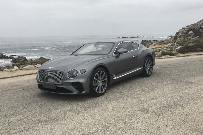 В России отзывают Bentley Continental GT