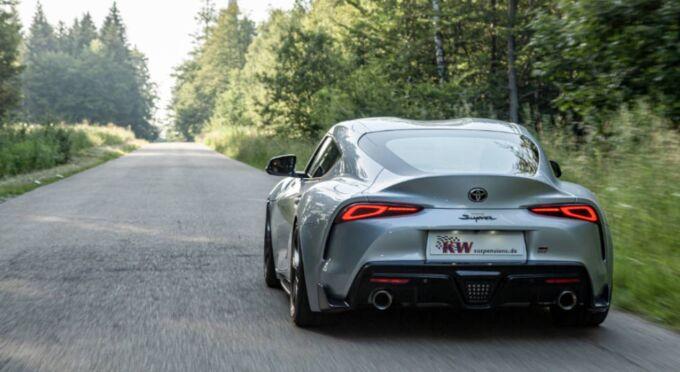 Подвеска KW Automotive улучшает поведение Toyota Supra