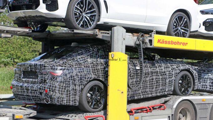 Новый BMW 4 Series Gran Coupe впервые показался на тестировании