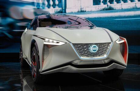 Nissan показал дилерам новый электрический кроссовер