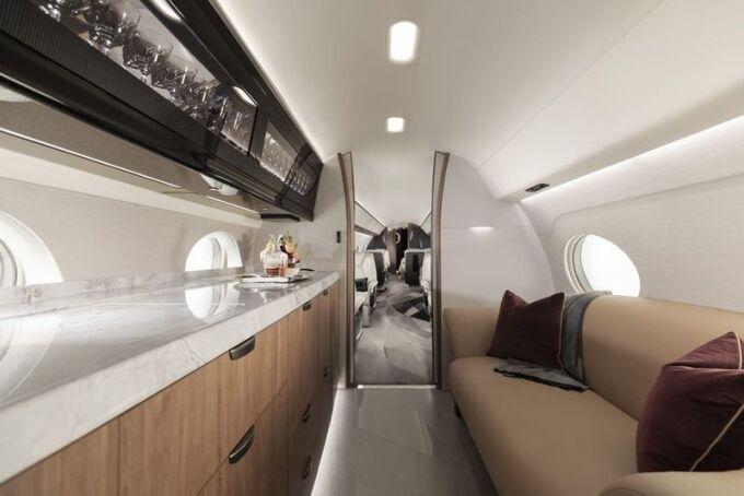 Gulfstream представляет нового флагмана — G700