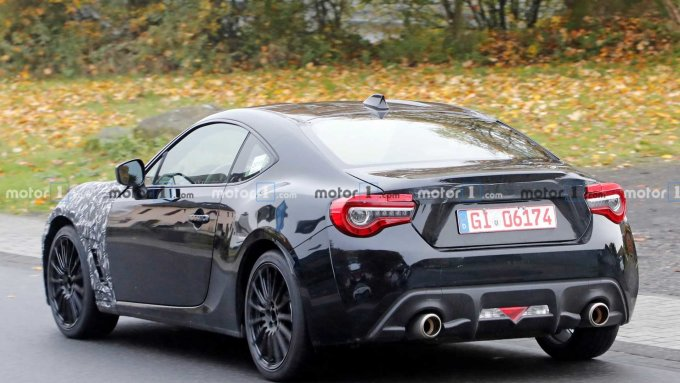 Subaru обкатывает обновленный BRZ