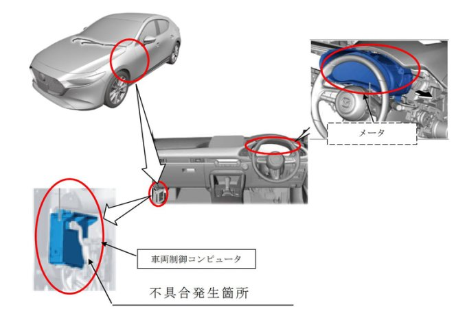 Mazda отзывает новые Mazda3 и CX-30