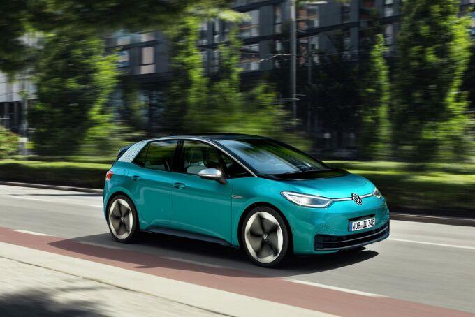 Volkswagen столкнулся с массовыми проблемами с ПО для ID.3