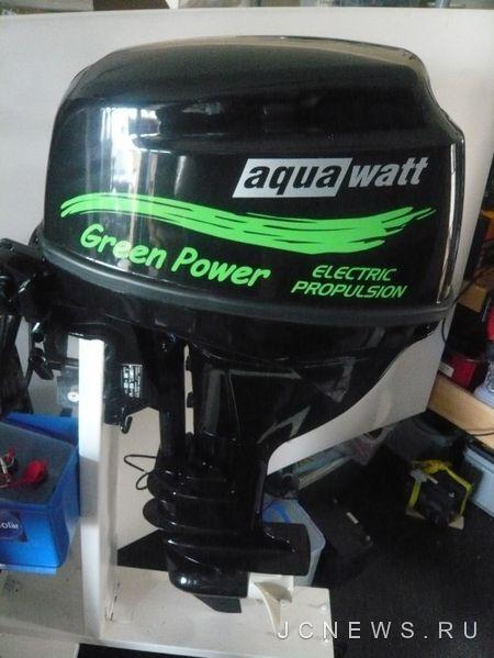 Подвесной электрический мотор Aquawatt